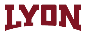 Lyoncollege wordmark fornavybackground