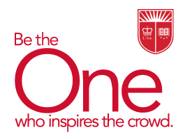 Be the one tagline