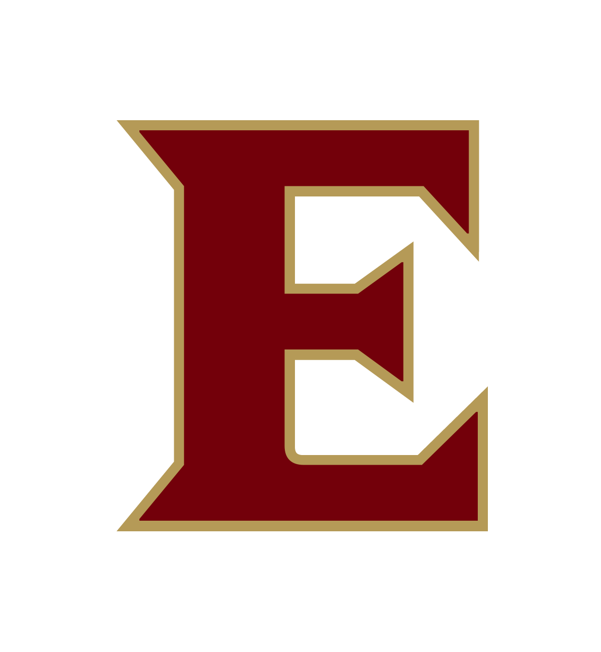 Elon monogram primary maroon gold rgb 300dpi