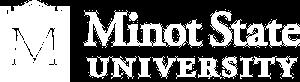 Minot logo white